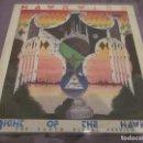 Discos de vinilo: HAWKWIND - NIGHT OF THE HAWKS - MAXI EDICION DEL AÑO 1984.. Lote 143752170
