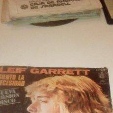 Discos de vinilo: BAL-7 DISCO CHICO 7 PULGADAS LEIF GARRETT SIENTO LA NECESIDAD. Lote 143755746