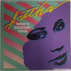Discos de vinilo: ARETHA FRANKLIN...WHO'S ZOOMIN' WHO.(ARISTA ? 1985.) SPAIN.. Lote 143760458