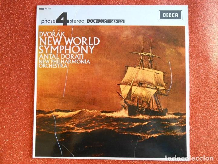 DVOAK NEW WORLD SYMPHONY ANTAN DORATI NEW PHILHARMONICA ORCHESTA (Música - Discos de Vinilo - EPs - Clásica, Ópera, Zarzuela y Marchas)