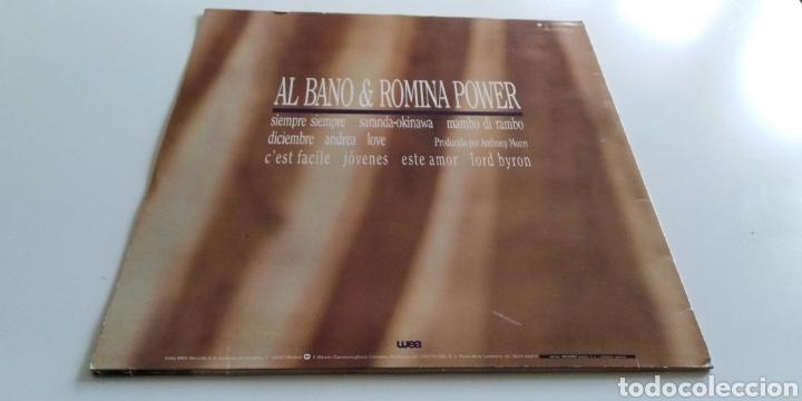 Discos de vinilo: Albano y romina Power vinilo - Foto 2 - 143765134