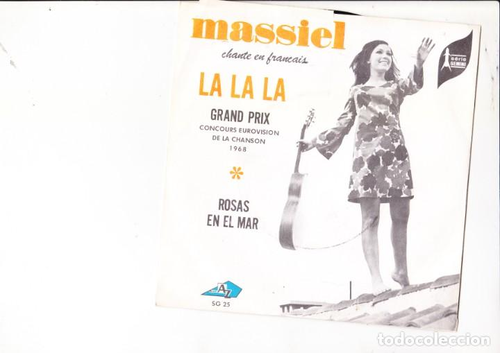 Discos de vinilo: Grand Prix Eurosvision Spain 1968 La la la french version - Foto 1 - 143774110