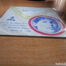 Discos de vinilo: RAPHAEL NOCHE DE PAZ , NOCHE DE FE EDICION DE ANGOLA. Lote 143777158