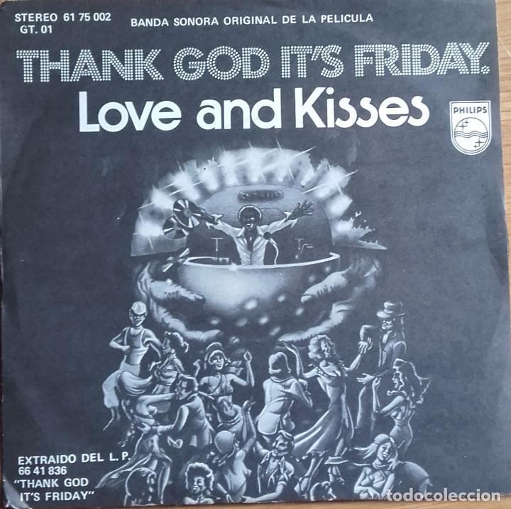 LOVE & KISSES: THANK GOD IT'S FRIDAY BANDA SONORA ORIGINAL (Música - Discos - Singles Vinilo - Bandas Sonoras y Actores)