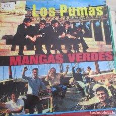 Discos de vinilo: LOS PUMAS / MANGAS VERDES - LOS PUMAS Y MANGAS VERDES - LP REEDICION EL COCODRILO. Lote 143788774
