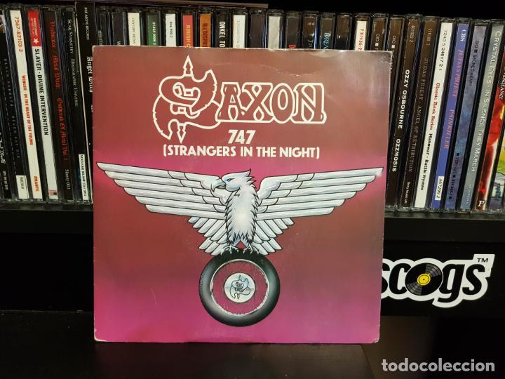 SAXON - 747 (STANGERS IN THE NIGHT) (Música - Discos - Singles Vinilo - Heavy - Metal)