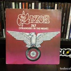 Discos de vinilo: SAXON - 747 (STANGERS IN THE NIGHT). Lote 143789214