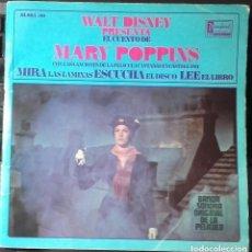 Discos de vinilo: WALT DISNEY PRESENTA EL CUENTO DE MARY POPPINS - EP DISNEYLAND SPAIN 1967. Lote 145811248