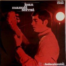 Discos de vinilo: JOAN MANUEL SERRAT ARA QUE TINC VINT ANYS, LP EDIGSA 1967 + LETRAS. Lote 143791050