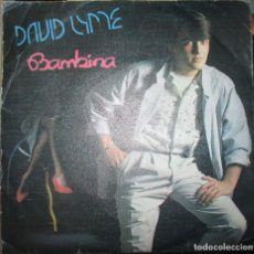 Discos de vinilo: DAVID LYME - BAMBINA - SINGLE MAX MUSIC 1985. Lote 143791482