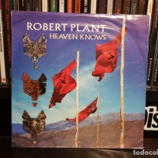 Discos de vinilo: ROBERT PLANT - HEAVEN KNOWS. Lote 143794174