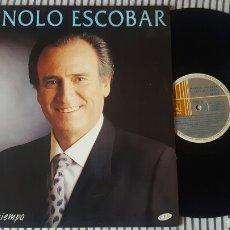 Discos de vinilo: MANOLO ESCOBAR TIEMPO AL TIEMPO LP 1994 RARO EN VINILO. Lote 143795678