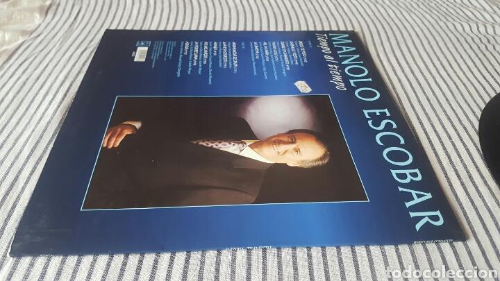 Discos de vinilo: Manolo Escobar tiempo al tiempo LP 1994 Raro en Vinilo - Foto 3 - 143795678