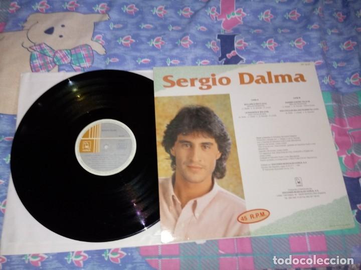 Discos de vinilo: SERGIO DALMA Ballare stretti / Danser contre toi ITALIANO FRANCES MAXI SINGLE VINILO EUROVISION 1991 - Foto 2 - 143796517