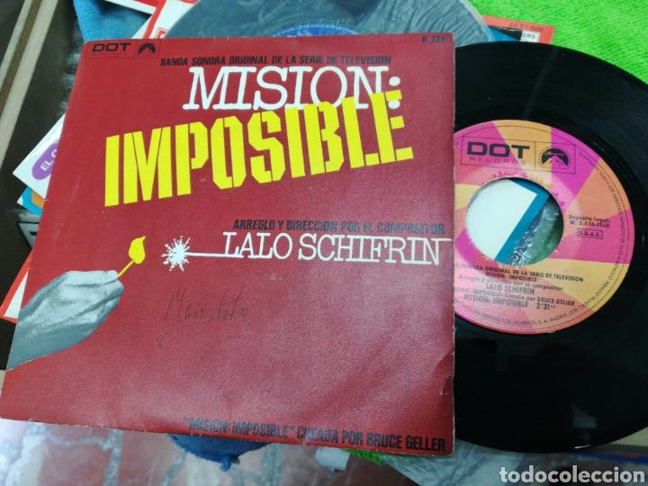 LALO SCHIFRIN SINGLE B.S.O. MISION: IMPOSIBLE ESPAÑA 1968 /2 (Música - Discos - Singles Vinilo - Bandas Sonoras y Actores)