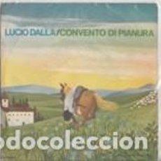 Discos de vinilo: LUCIO DALLA PIAZZA GRANDE SINGLE SANREMO 1972 RCA ITALIANA . Lote 143807774