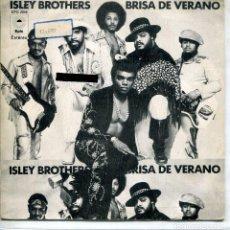 Discos de vinilo: ISLEY BROTHERS / BRISA DE VERANO (PARTES 1 Y 2) SINGLE 1974. Lote 143820634