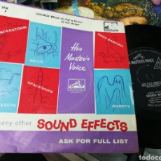 Discos de vinilo: SOUND EFFECTS SINGLE CHURCH BELLS U.K.. Lote 143822400