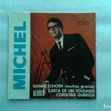 Dischi in vinile: MICHEL - DANKE SCHOEN EP 4 TEMAS 1963 EDICION ESPAÑOLA. Lote 143823726