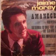 Discos de vinilo: JAIME MOREY - AMANECE 1972 ORLADOR. Lote 143826742