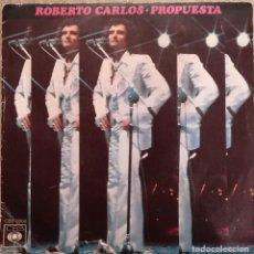 Dischi in vinile: ROBERTO CARLOS - PROPUESTA - 1975 CBS. Lote 143828122