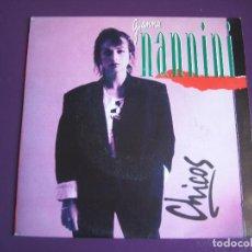 Discos de vinilo: GIANNA NANNINI SG POLYDOR 1992 CHICOS (EN ESPAÑOL)/ I MASCHI (EN ITALIANO) - ITALIA POP ROCK 90'S. Lote 143831594
