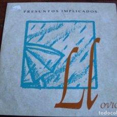 Discos de vinilo: PRESUNTOS IMPLICADOS - LLOVIO - SINGLE WEA ESPAÑA 1992 DISCO PROMOCIONAL. Lote 143835574