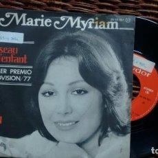 Discos de vinil: SINGLE (VINILO) DE MARIE MYRIAM AÑOS 70(EUROVISION). Lote 143841170