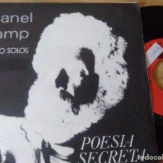 Discos de vinilo: SINGLE (VINILO) DE MANEL CAMP AÑOS 80. Lote 143841814