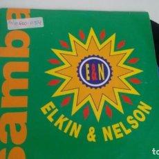 Discos de vinilo: SINGLE (VINILO) DE ELKIN & NELSON AÑOS 90. Lote 143842050