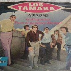 Discos de vinilo: LOS TAMARAS GALLEGUIÑOS. Lote 143842936