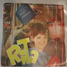 Discos de vinilo: RITA PAVONE - MARY POPPINS +3. Lote 143843554