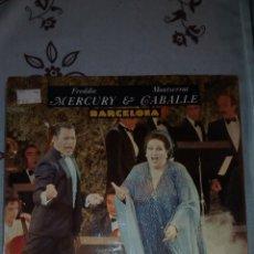 Discos de vinilo: FREDDIE MERCURY & MONTSERRAT CABALLE. BARCELONA. LP. NUEVO! PRECINTADO! POLYDOR. Lote 143857852