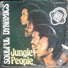 Discos de vinilo: SOULFUL DYNAMICS: JUNGLE PEOPLE . Lote 143859122