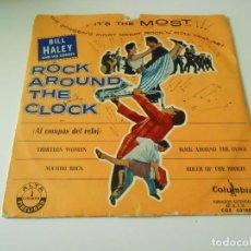 Discos de vinilo: BILL HALEY AND HIS COMETS, EP, ROCK AROUND THE CLOCK + 3, AÑO 1959. Lote 143862034