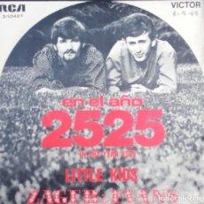 Discos de vinilo: ZAGER & EVANS: EN EL AÑO 2525 . Lote 143862462