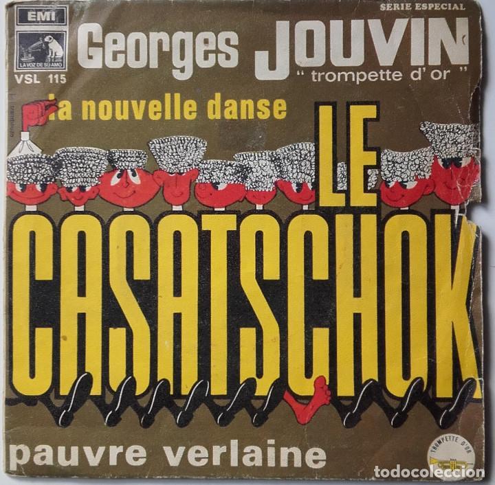 GEORGES JOUVIN: LE CASATSCHOK (Música - Discos - Singles Vinilo - Pop - Rock Internacional de los 50 y 60)