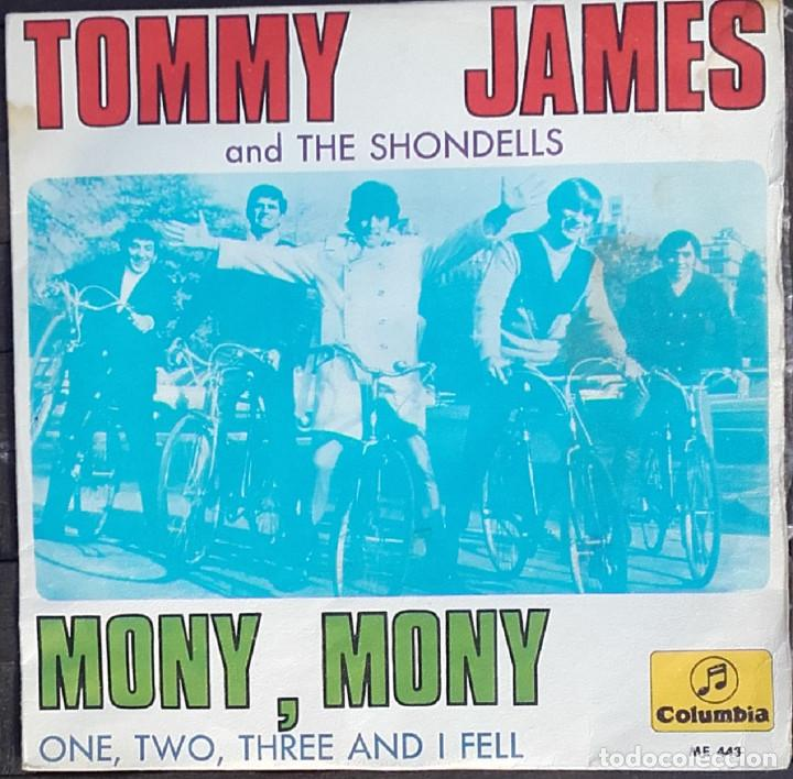Discos de vinilo: Tommy James And The Shondells: Mony, Mony - Foto 1 - 143863110