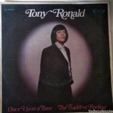Discos de vinilo: TONY RONALD. Lote 143863133