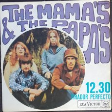 Discos de vinilo: THE MAMAS AND THE PAPAS: 12.30 . Lote 143863426