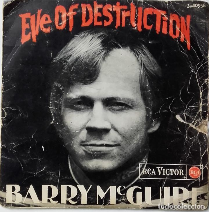 BARRY MCGUIRE: EVE OF DESTRUCTION (Música - Discos - Singles Vinilo - Pop - Rock Internacional de los 50 y 60)