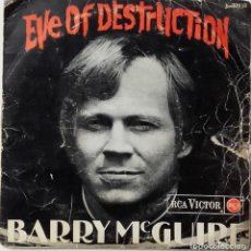 Discos de vinilo: BARRY MCGUIRE: EVE OF DESTRUCTION. Lote 143863518