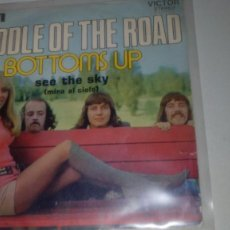 Discos de vinilo: MIDDLE OF THE ROAD - BOTTOMS UP / SEE THE SKY. Lote 143868346
