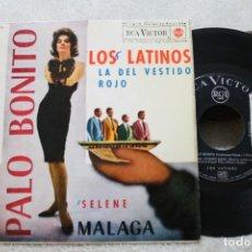 Discos de vinilo: LOS LATINOS PALO BONITO +3 EP 1963. Lote 143871922