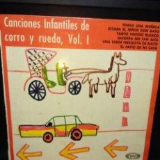 Discos de vinilo: EP CORO INFANTIL LA TREPA : CANCIONES INFANTILES DE CORRO Y RUEDA, VOL.1 ( VINILO ROJO) . Lote 143876146