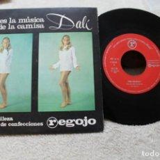 Discos de vinilo: THE EQUALS LAUREL Y HARDY SINGLE PROMO CAMISAS DALI CONFECCIONES REGOJO. Lote 143877286