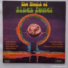 Discos de vinilo: LP / VARIOS ARTISTAS / THE WORLD OF BLUES POWER / 1970. Lote 143887142