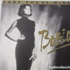 Discos de vinilo: BASIA – BABY YOU'RE MINE - SINGLE SIDED PROMO SPAIN 1990. Lote 143891498