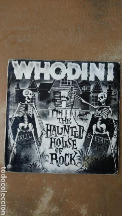 WHODINI – THE HAUNTED HOUSE OF ROCK . SINGLE 1983. HIP - HOP. (Música - Discos - Singles Vinilo - Rap / Hip Hop)