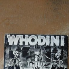 Discos de vinilo: WHODINI – THE HAUNTED HOUSE OF ROCK . SINGLE 1983. HIP - HOP.. Lote 143893472